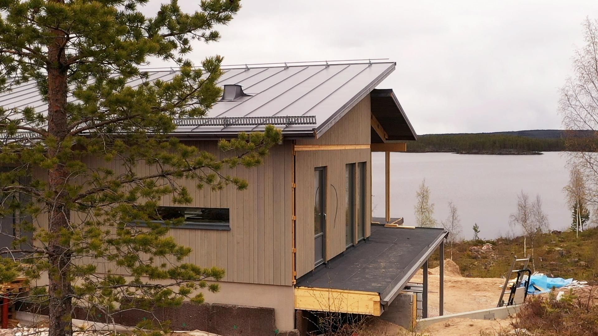 Utsikt från Stina Nilsons hus